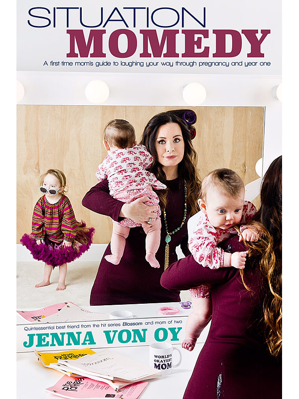 Jenna von Oy blog Situation Momedy book
