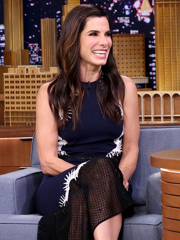 Sandra Bullock Jimmy Fallon