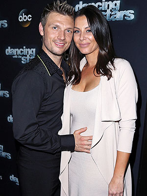 Nick Carter wife pregnant Dancing with the Stars