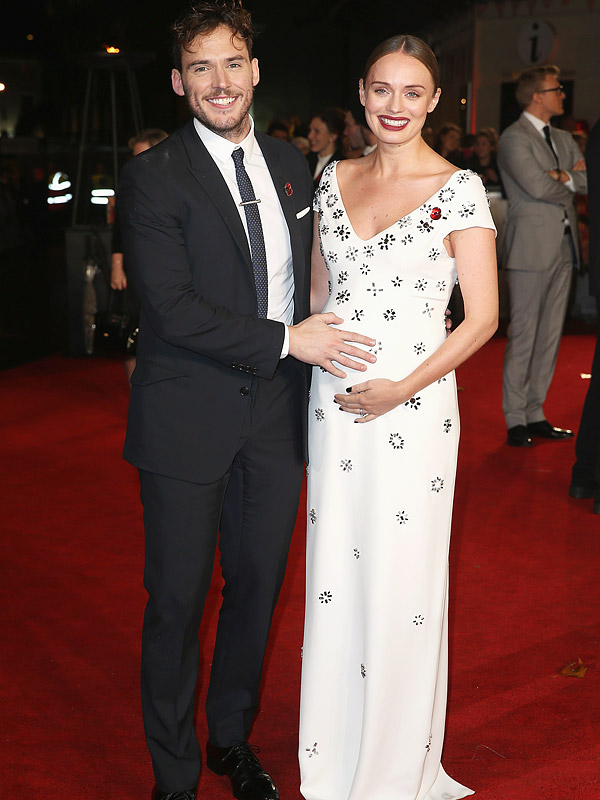 Sam Claflin wife Laura Haddock pregnant