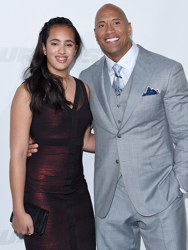 Dwayne Johnson The Rock daughter Simone