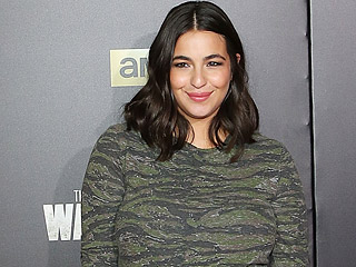 It's a Girl for The Walking Dead's Alanna Masterson