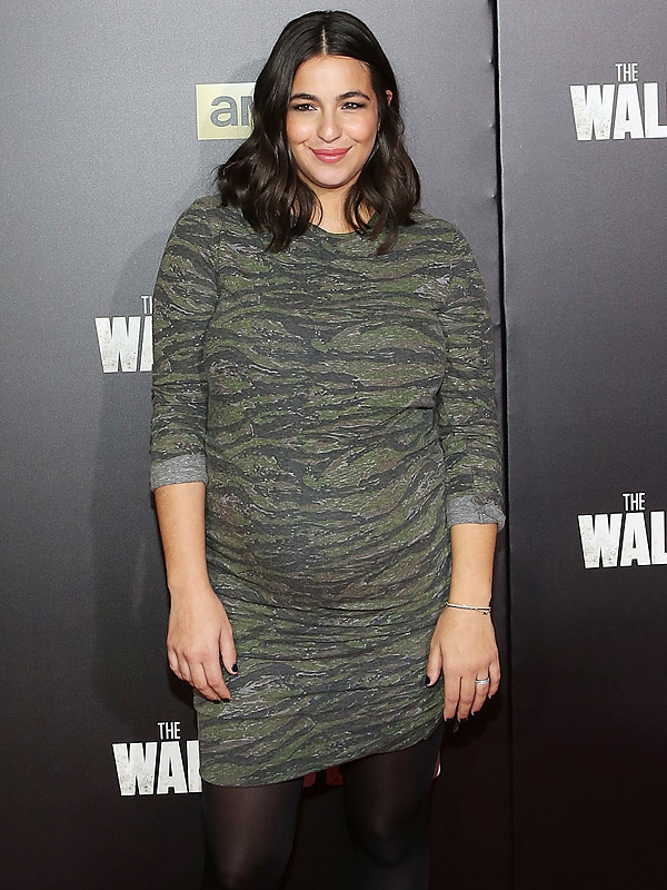 Alanna Masterson Welcomes Daughter Marlowe Moms Babies