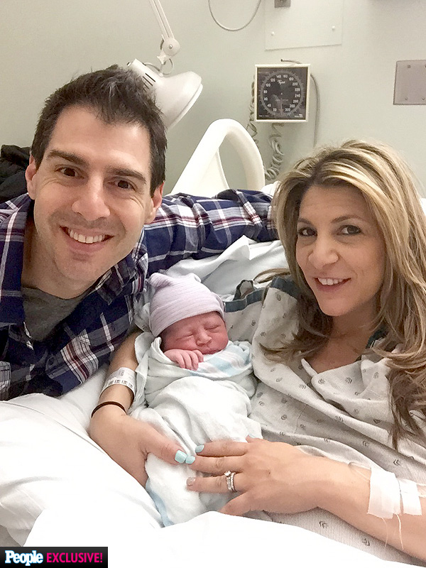 Rob Cesternino Welcomes Son Anthony Joseph