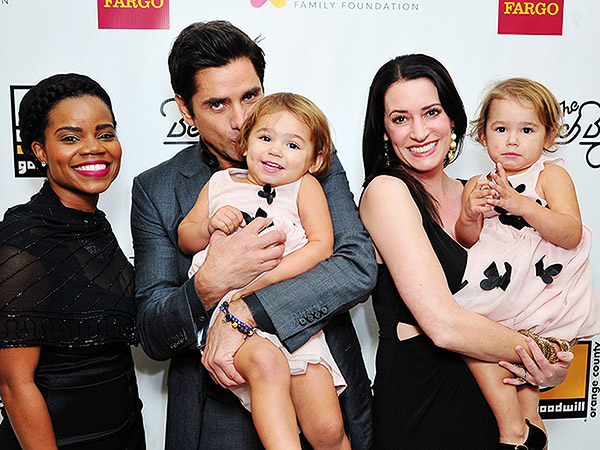 John Stamos at Goodwill Event
