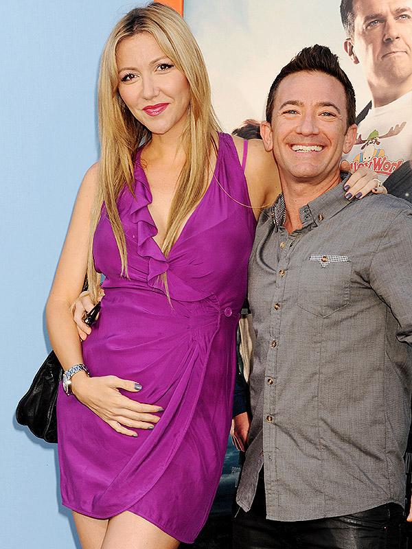 David Faustino and girlfriend