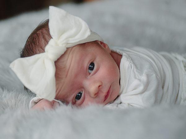 Kimberly Caldwell Jordan Harvey daughter Harlow