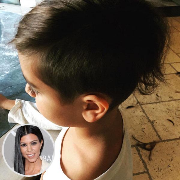 Prime Kourtney Kardashian Shows Off Son Mason Disick39S Adorable New Hairstyles For Men Maxibearus