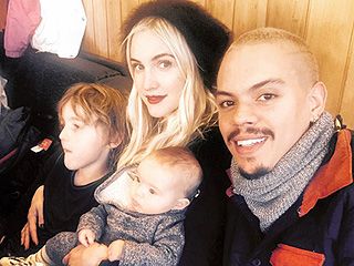 Ashlee Simpson and Evan Ross Take Little Family to Aspen for Ski Trip