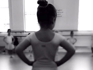 Victoria and David Beckham's 'Little Ballerina':  See Harper's Sweet Leotard