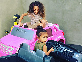 Larsa Pippen Shares Adorable Picture of Daughter Sophia Playing with North West: 'Hurry Park Let's Grab Lunch'