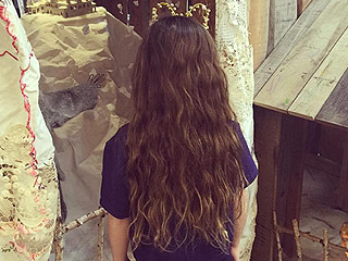 Salma Hayek's Daughter Is Growing Out Her Hair for Kids with Cancer