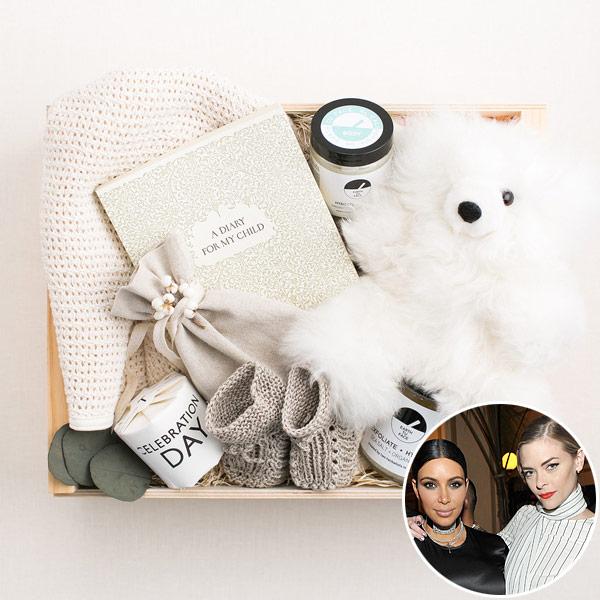 Kim Kardashian Jaime King baby gift Saint