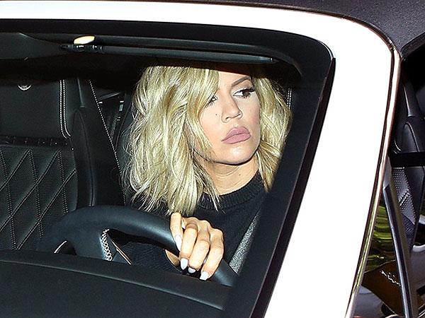 Khloe Kardashian visiting Kim and Kanye