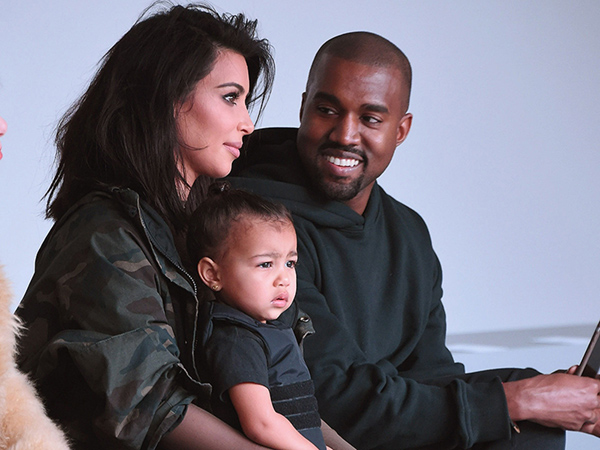 Kim Kardashian Kanye West name son Saint