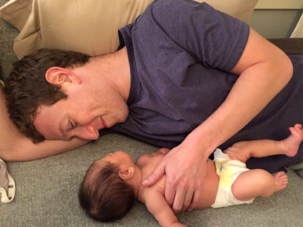 Mark Zuckerberg daughter Max photo