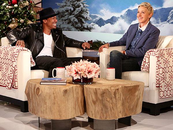 Nick Cannon Ellen DeGeneres