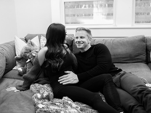 Sean Lowe Catherine Giudici pregnant expecting first child