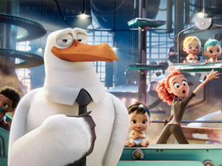VIDEO FIRST LOOK: See Kelsey Grammer as a Tie-Wearing Bird in Storks