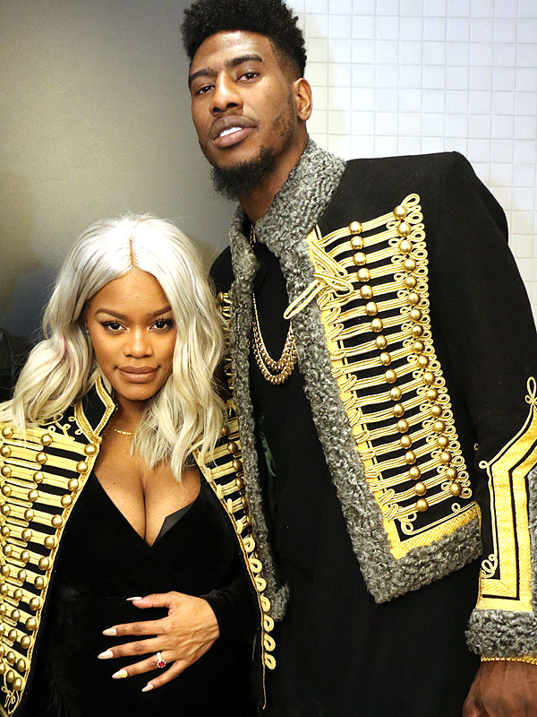 Marvelous Iman Shumpert And Teyana Taylor Welcome Daughter Iman Tayla Moms Hairstyle Inspiration Daily Dogsangcom