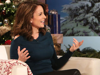 VIDEO: Tina Fey Can't Decide If Her Daughter Belongs on Santa's Naughty or Nice List