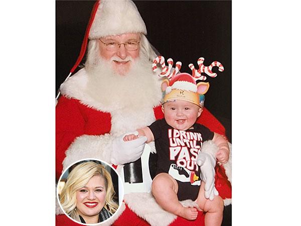 Kelly Clarkson River Santa Claus