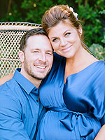 Tiffani Thiessen Baby Shower
