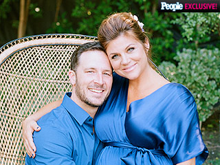 All the Adorable Details from Tiffani Thiessen's Baby Shower | Tiffani Thiessen, Tiffani Thiessen