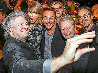 Taylor Swift Surprises the Crowd at Nashville Pre-Grammys Party (PHOTOS)