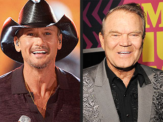 Tim McGraw to Perform on Glen Campbell's Behalf at the Oscars | Glen Campbell, Tim McGraw