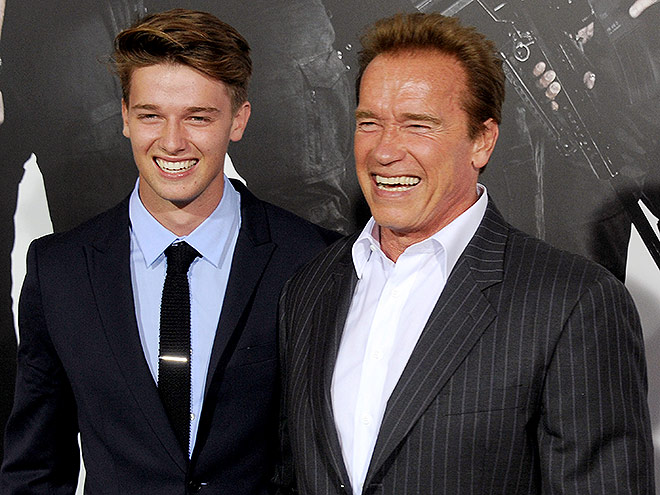 Arnold Schwarzenegger and Patrick Schwarzenegger, Photos ...