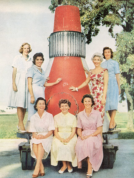 life magazine mercury astronauts wives - photo #22