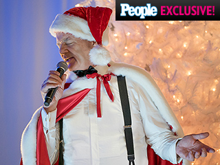 First Look: George Clooney, Miley Cyrus & More in A Very Murray Christmas