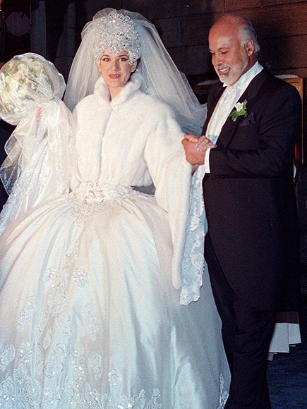 Celine Dion Wedding Pictures 14