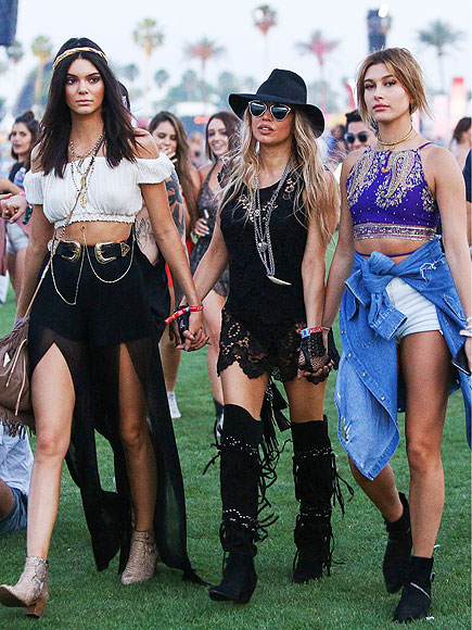 FOLLOW THE BUDDY SYSTEM  photo | The Coachella Music and Arts Festival, Fergie, Kendall Jenner