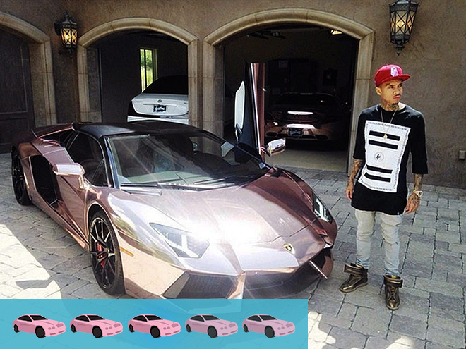 Crazy Celebrity Cars | PEOPLE.com