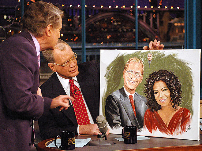 NOVEMBER 2005 photo | Late Show With David Letterman, David Letterman, Oprah Winfrey, Regis Philbin