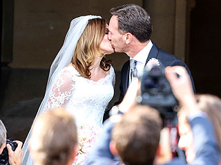 Ginger Spice Is Married! 10 Gorgeous Photos from Geri Haliwell's Friday Nuptials