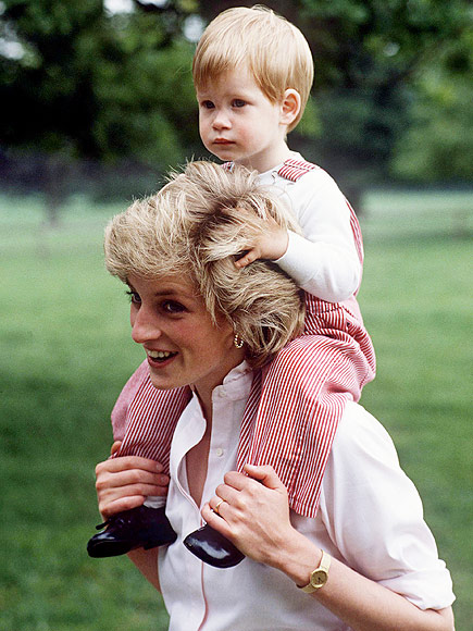 Prince Harry Is 'Carrying Princess Diana's Torch' in Fight to End HIV| The British Royals, The Royals, Prince Harry, Princess Diana