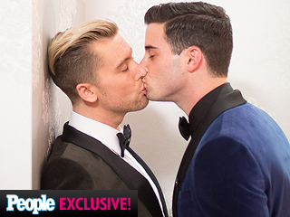 Go Inside Lance Bass's Wedding