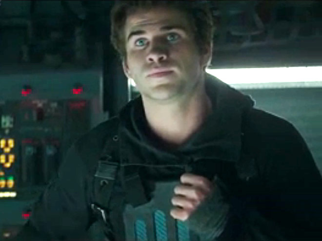 9. GALE IS CONCERNED, TOO photo | The Hunger Games: Mockingjay - Part I, The Hunger Games, Liam Hemsworth