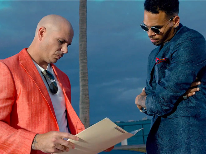 """Fun"" – Pitbull & Chris Brown photo 