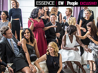 Get Ready for #TGIT! Exclusive Behind-the-Scenes Dish from PEOPLE, Entertainment Weekly and Essence's Exclusive Photo Shoot