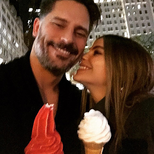FOCUS ON THE SWEET THINGS photo | Joe Manganiello, Sofia Vergara