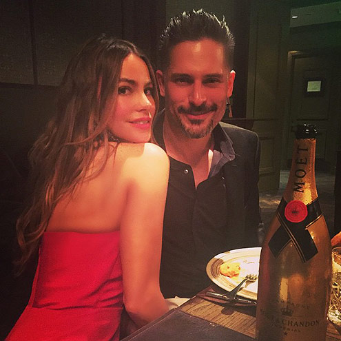 STAY CLOSE, LITERALLY photo | Joe Manganiello, Sofia Vergara