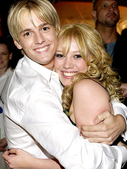 HILARY & AARON photo | Aaron Carter, Hilary Duff