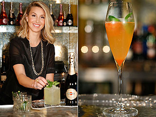 The Perfect New Year's Eve Drink: Whitney Port's Fruity Prosecco Cocktail | Whitney Port