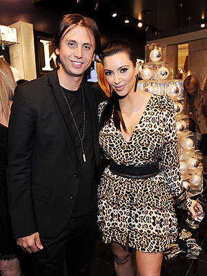Jonathan Cheban and Kim Kardashian