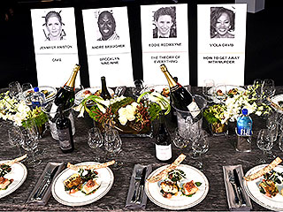 SAG Awards Dinner Revealed: What the Stars Will Be Eating at the Show