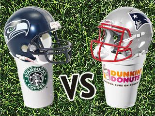 Dunkin Starbucks Showdown